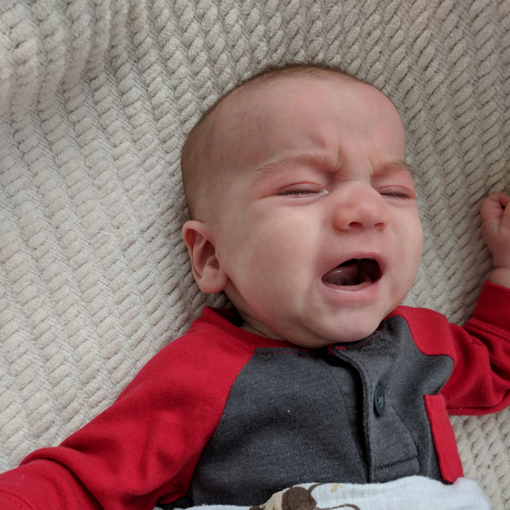 How to prevent a fussy baby in the evening!