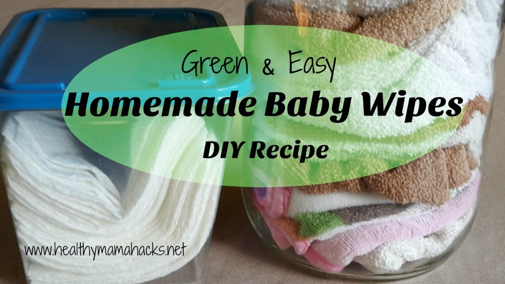 DIY - Homemade Baby Wipes