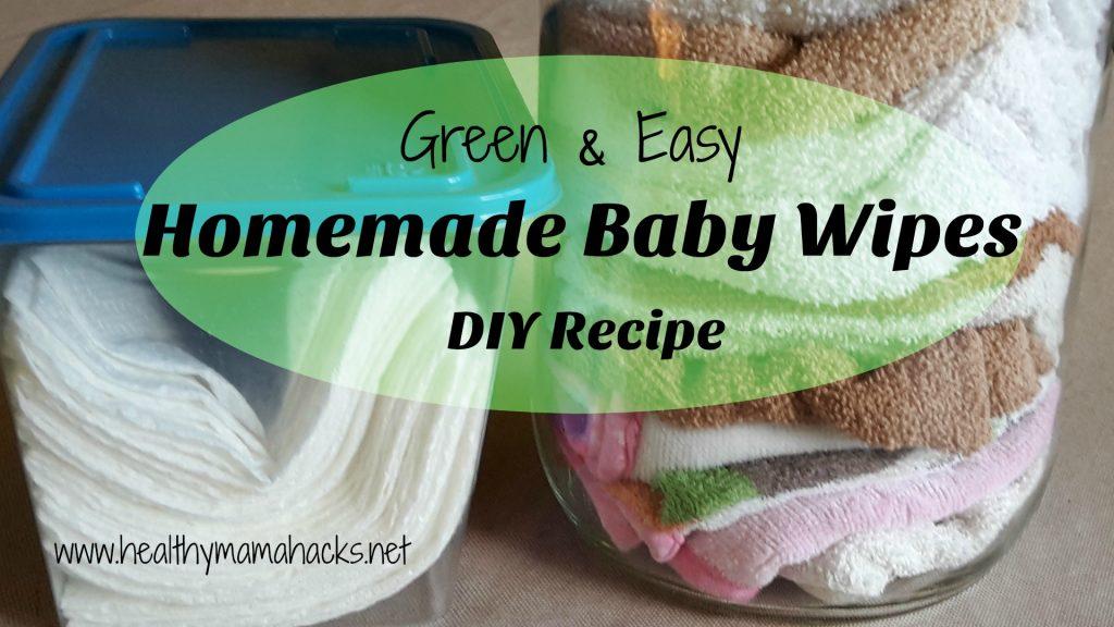 DIY - Homemade Baby Wipes