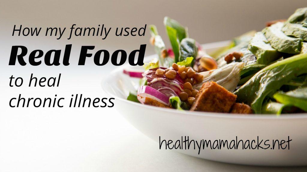 Real food is healing medicine