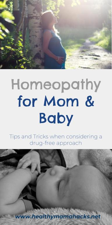 How to use homeopathy for pregnancy, childbirth and baby care!