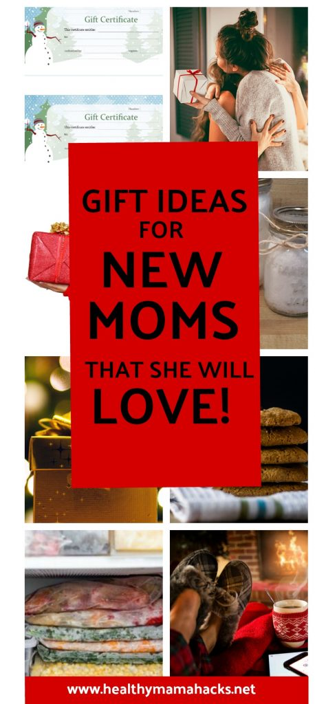 Gift ideas for new moms that she will LOVE!