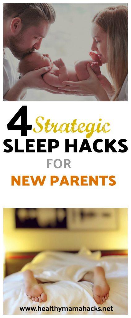 4 sleep hacks for new parents