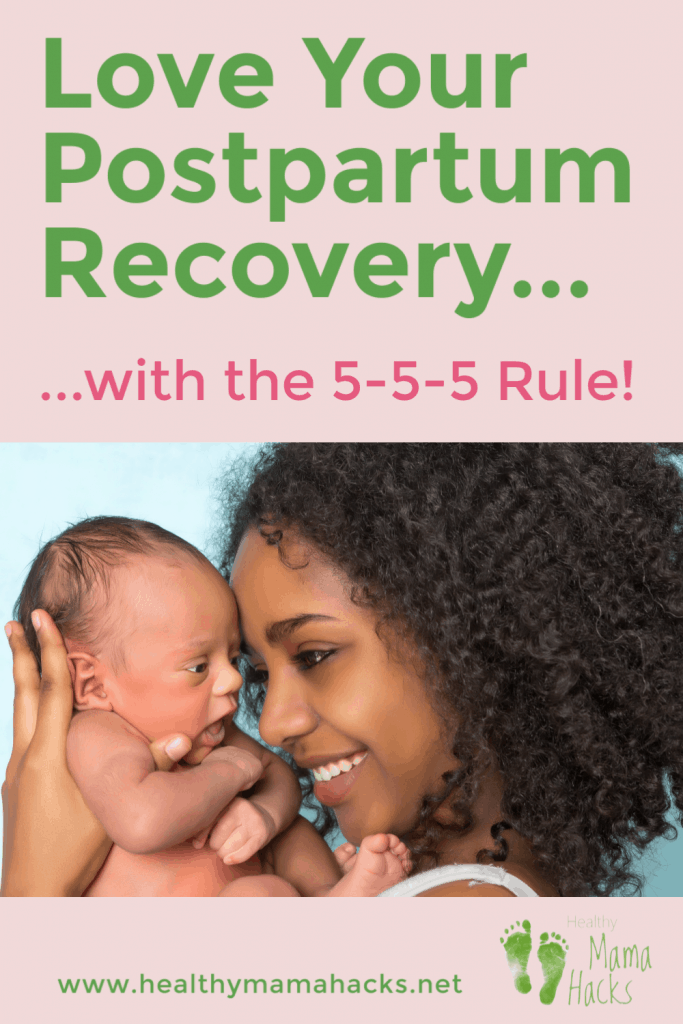 Learn how to care for yourself with this amazing postpartum recovery plan. The 5-5-5 postpartum rule is the best self care plan for new mothers. Reclaim the joy of the 4th trimester! By following this postpartum recovery plan, you will be pampered and spoiled while you rest, recover and bond with your newborn. Avoid postpartum complications, breastfeeding problems, low milk supply and THRIVE during your 4th trimester. It all starts with an amazing plan! #postpartumplan, #postpartum, #newborn