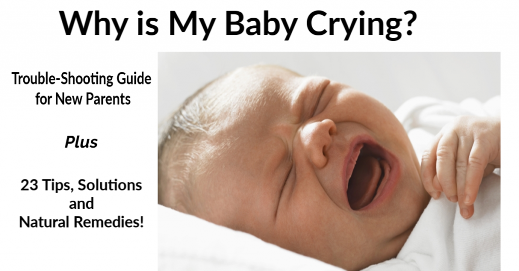 Learn how to calm a crying baby fast!
